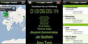 Screenshots der App »AppArtAward 2011»