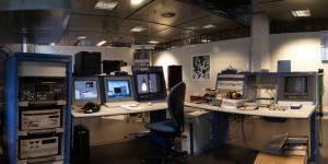 Arbeitsbereich mit Computern