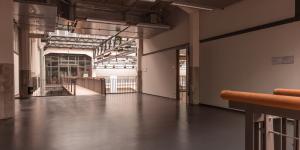 Der Zugang zum Seminarraum im 2.OG des ZKM