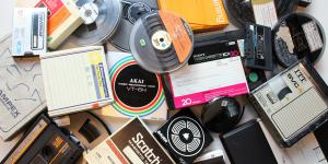 video and adio tapes