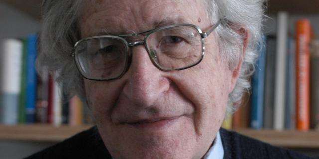 Portrait von Noam Chomsky