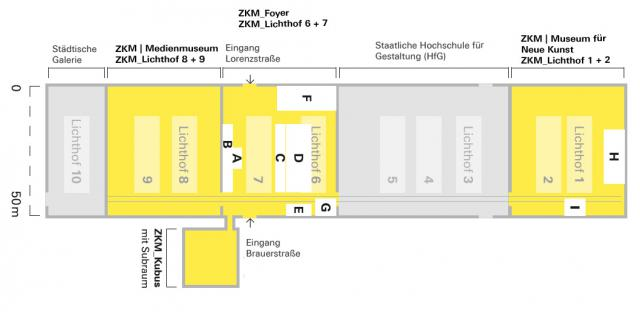 ZKM-Lageplan