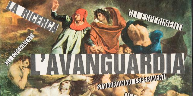 Nanni Balestrini, »Delacroix. L'avanguardia«, aus der Serie »I maestri del colore«