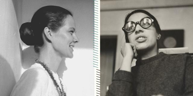 Das Schwarz-Weiß-Foto zeigt das Buchcover der Briefe von Helene Dorn und Hettie James