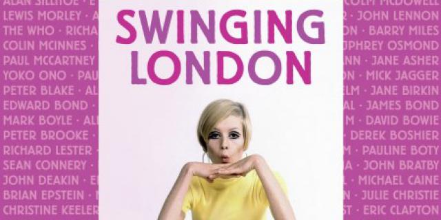 Buchcover mit dem Titel »Swinging London«
