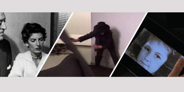 Drei unterschiedliche Bilder auf denen Teri Wehn Damisch zu sehen ist