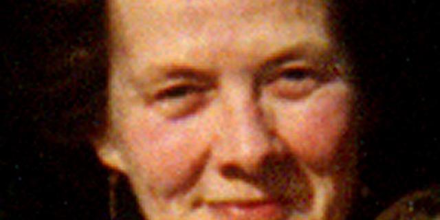 Das Foto zeigt ein Portrait der »Beatfrau« Helene Dorn.