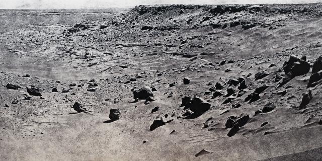 Großes Bild einer Mondlandschaft