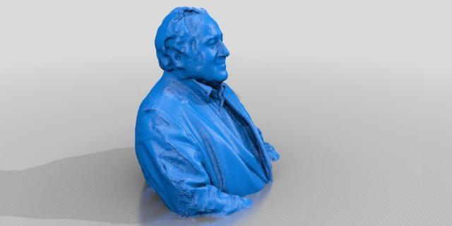 3D-Druck von Peter Weibel