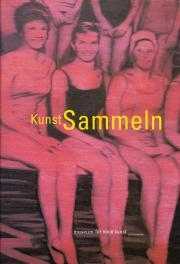 Cover of the publication »Kunst Sammeln«