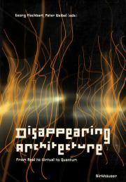 Cover of the publication »Disappearing Architecture«