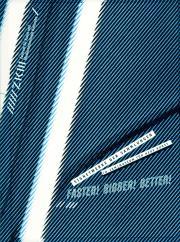 Cover der Publikation »Faster! Bigger! Better!. Signetwerke der Sammlungen im ZKM | Museum für Neue Kunst«