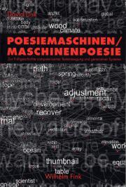 Cover der Publikation »Poesiemaschinen. Maschinenpoesie«