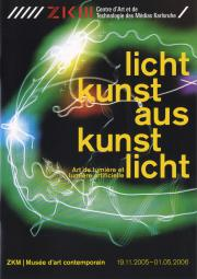 Cover der Publikation »Lichtkunst aus Kunstlicht / Art lumière et lumière arificielle«