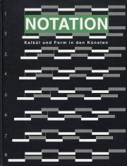 Cover der Publikation » Notation«