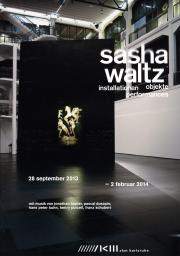 Cover der Publikation »Sasha Waltz: Installationen, Objekte, Performances«
