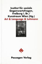 Cover der Publikation »Art & Language & Luhmann III«
