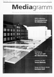 Cover der Publikation »Mediagramm Nr. 12«