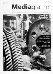 Cover der Publikation »Mediagramm Nr. 16«