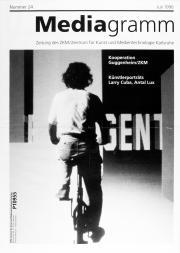 Cover der Publikation »Mediagramm Nr. 24«