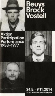Cover der Publikation »Beuys Brock Vostell«