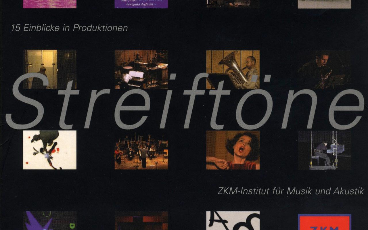 Cover der Publikation »Streiftöne. 15 Einblicke in Produktionen«