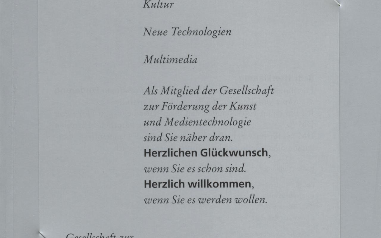 Cover of the publication »Die ersten 10 Jahre«