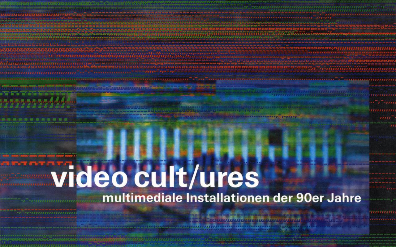Cover der Publikation »Video Cult/ures«