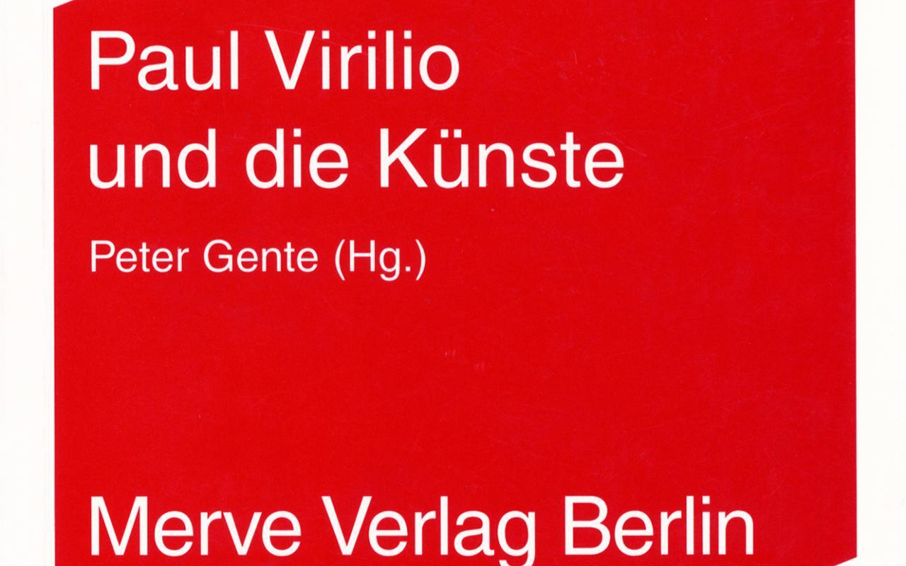 Cover der Publikation »Paul Virilio und die Künste«