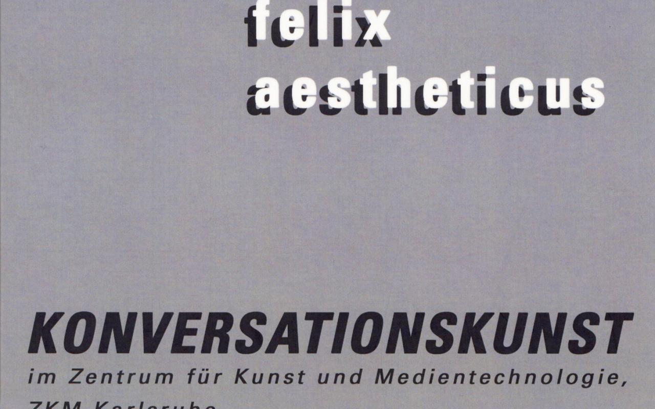 Cover der Publikation »Konversationskunst«
