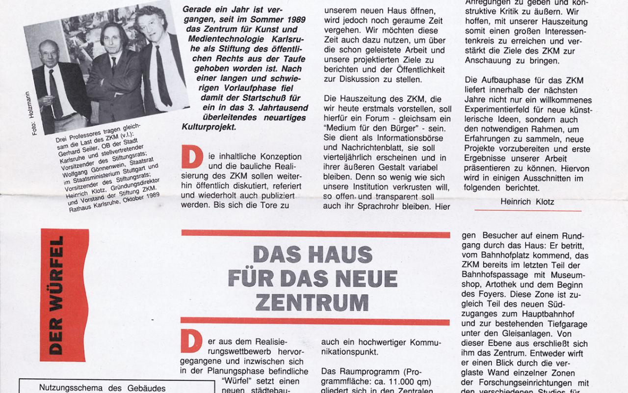 Cover of the publication »Mediagramm Nr. 1«