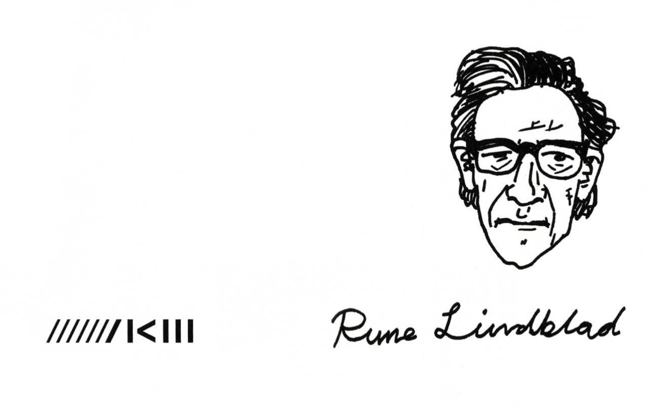 Cover der Publikation »Rune Lindblad«