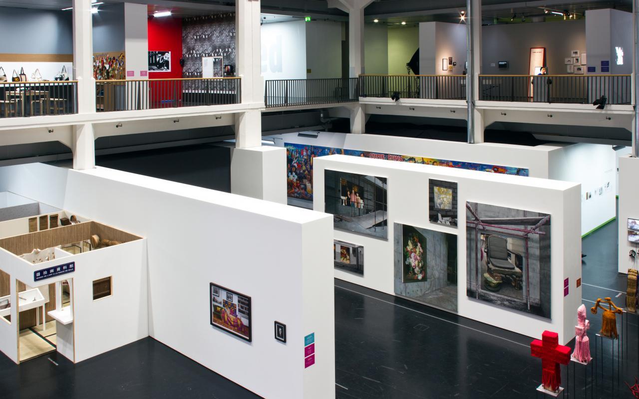 Ausstellungsansicht The Global Contemporary