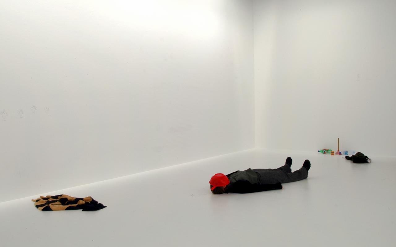 "Exhibition view ""Erwin Wurm"""