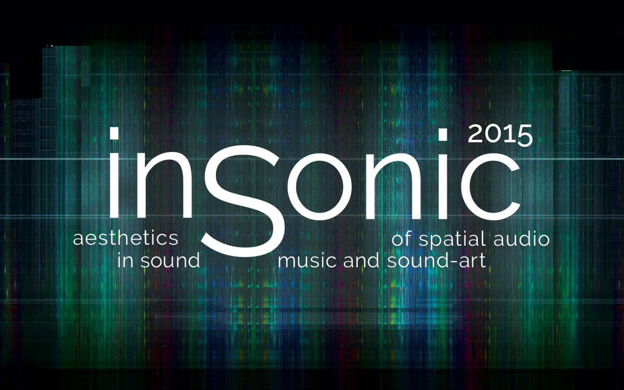 White text on a colored background: insonic 2015