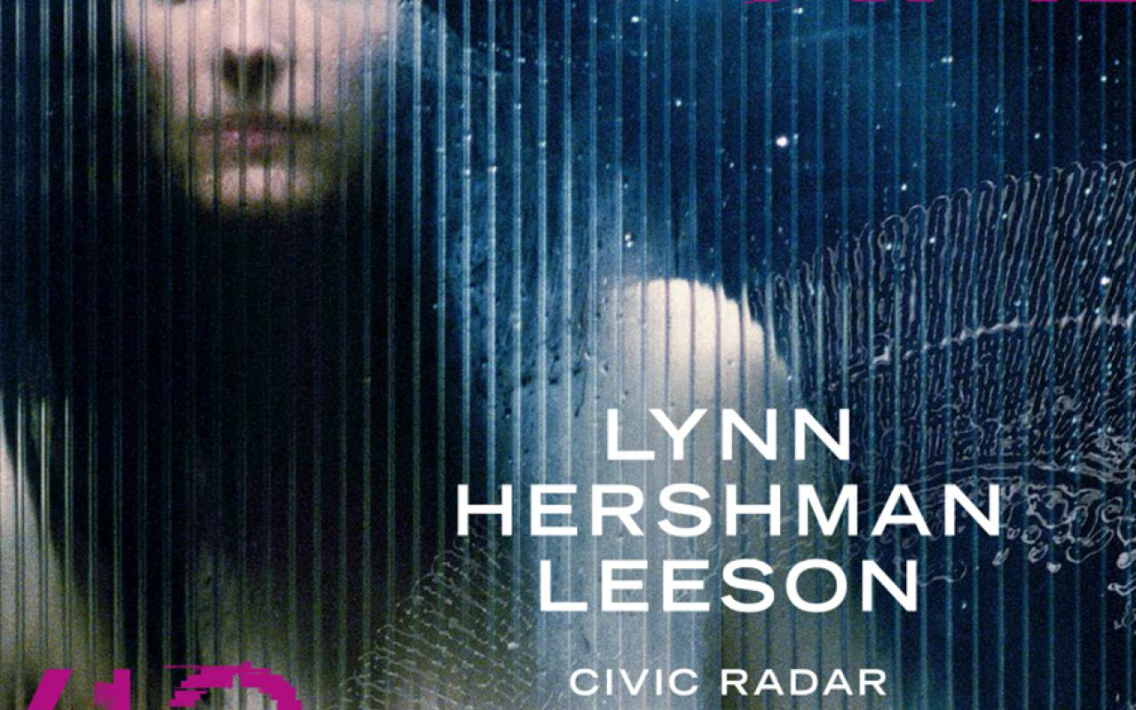 Cover of the publication »Lynn Hershman Leeson. Civic Radar«