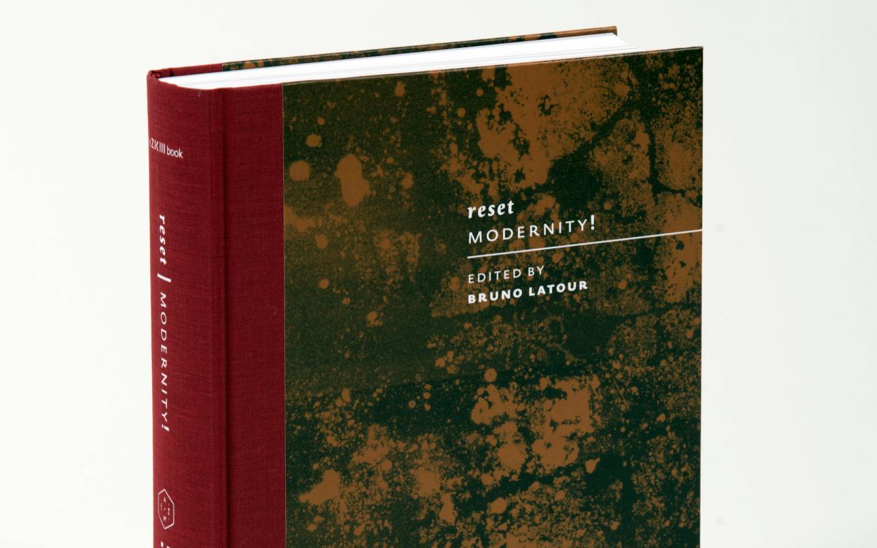 Foto des Buchs »Reset Modernity!«