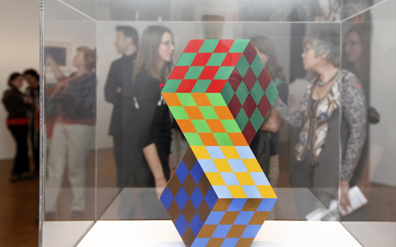 Exhibition view Symmetrical Art from Hungary