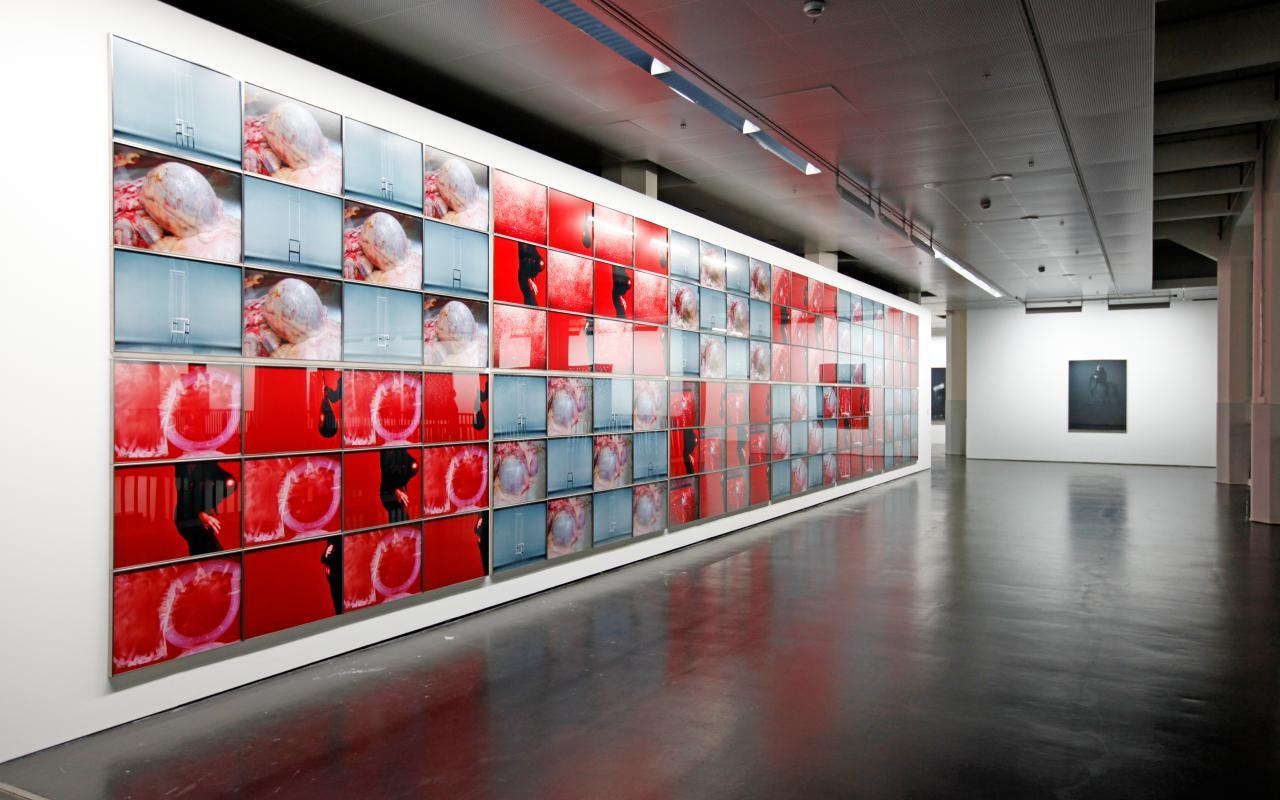 Ausstellungsansicht Jürgen Klauke