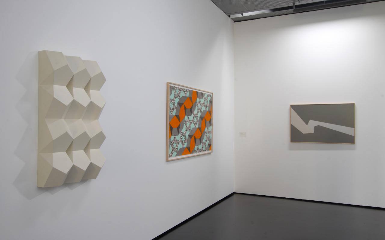 "Exhibition view ""My Gene, it has Five Corners..."""