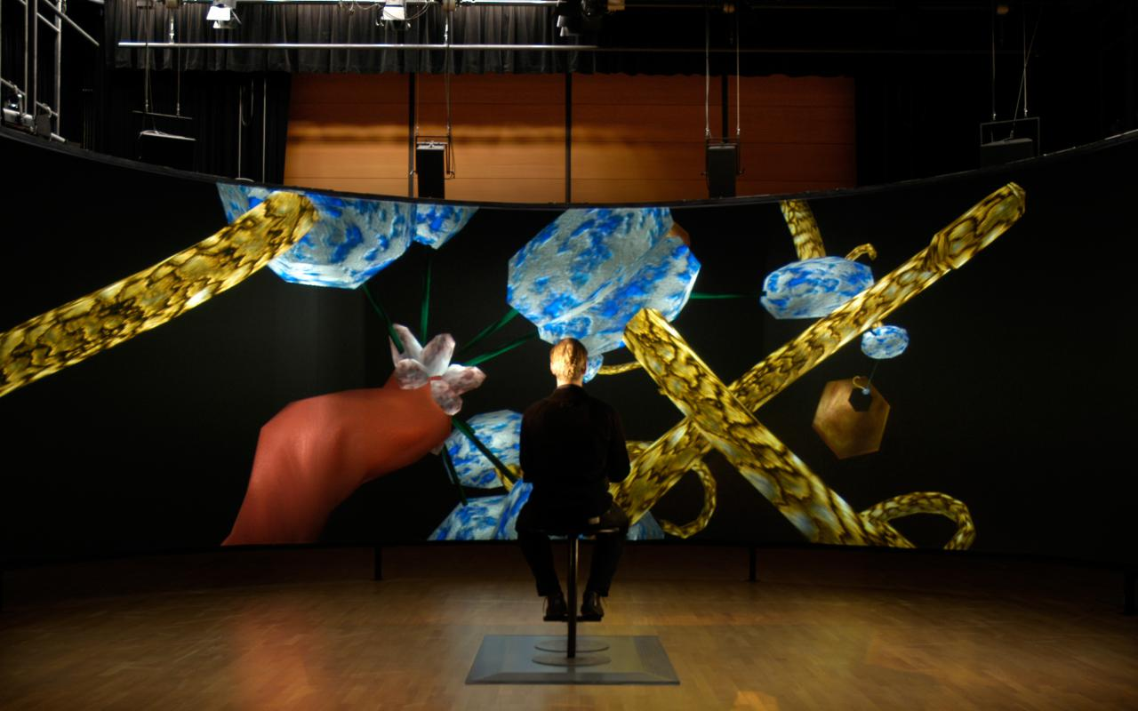 "Installation view ""Sono_reMorphed"""