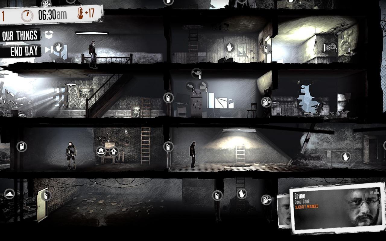 Screenshot of »This War Of Mine«