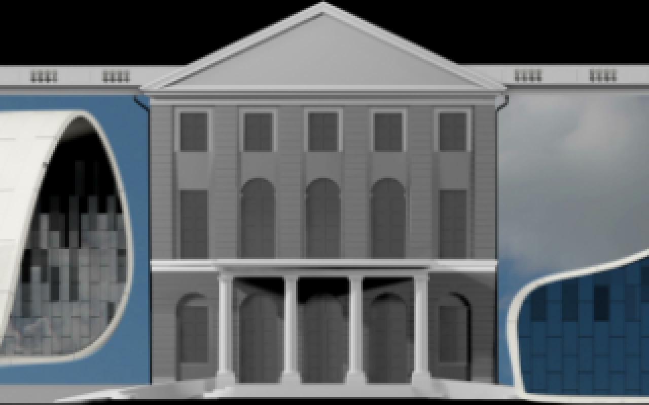 Marvelous Entwurf Eines Projection Mapping Der Gruppe »URBANSCREEN« Auf Einer  Simulierten Schlossfassade