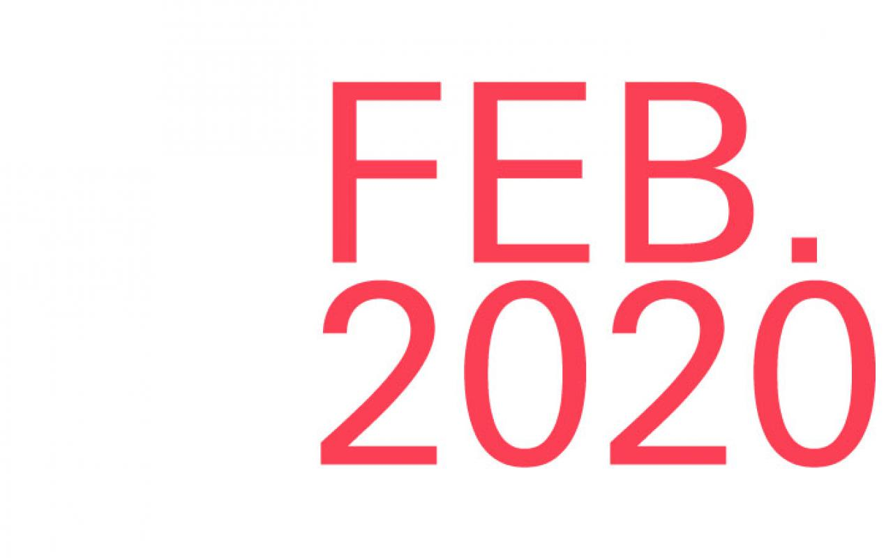 Logo for the article ZKM goes India in February 2020.