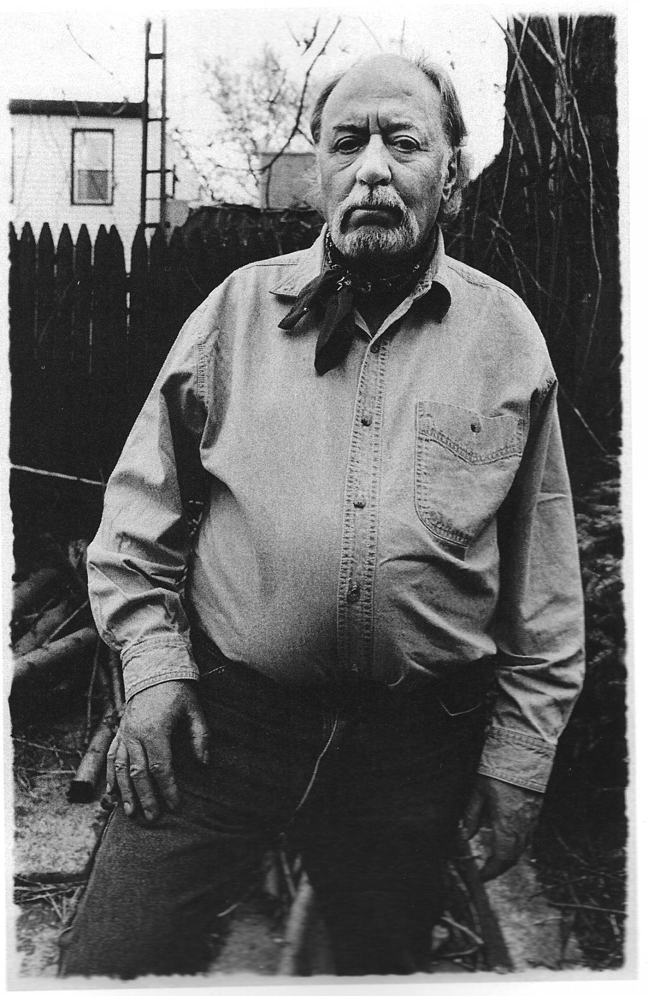 Aldo Tambellini, »Portrait of Aldo Tambellini« - TAMBELLINI_by_ Gerard Malanga