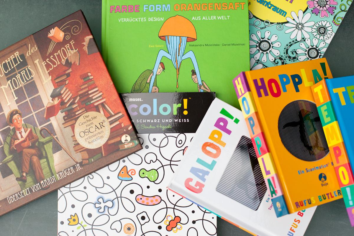 A bunch of Children's books
