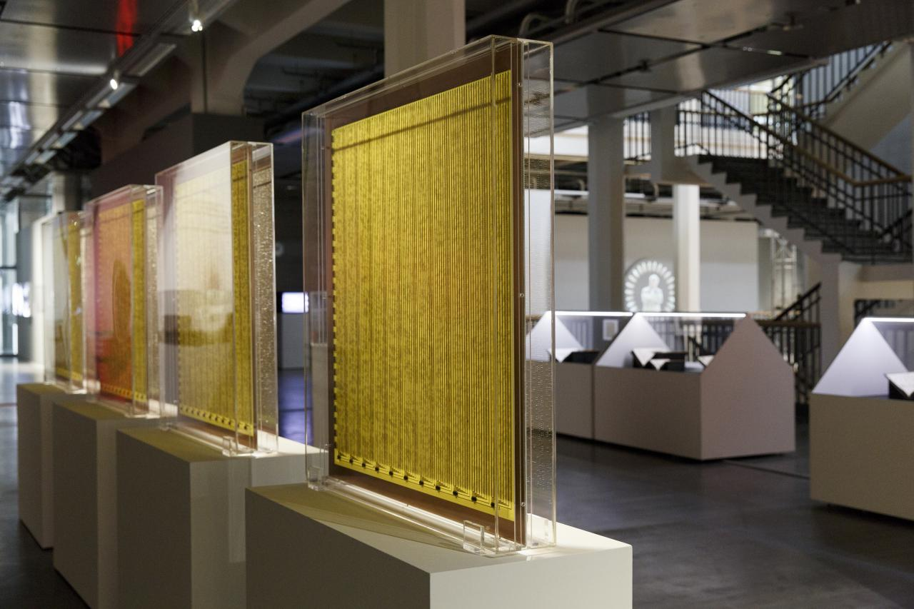 Exhibition view »DIA-LOGOs. Ramon Llull and the ars combinatoria«