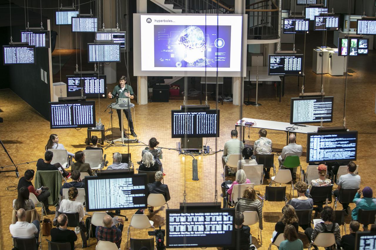 Das Foto zeigt Impressionen der Open Conference