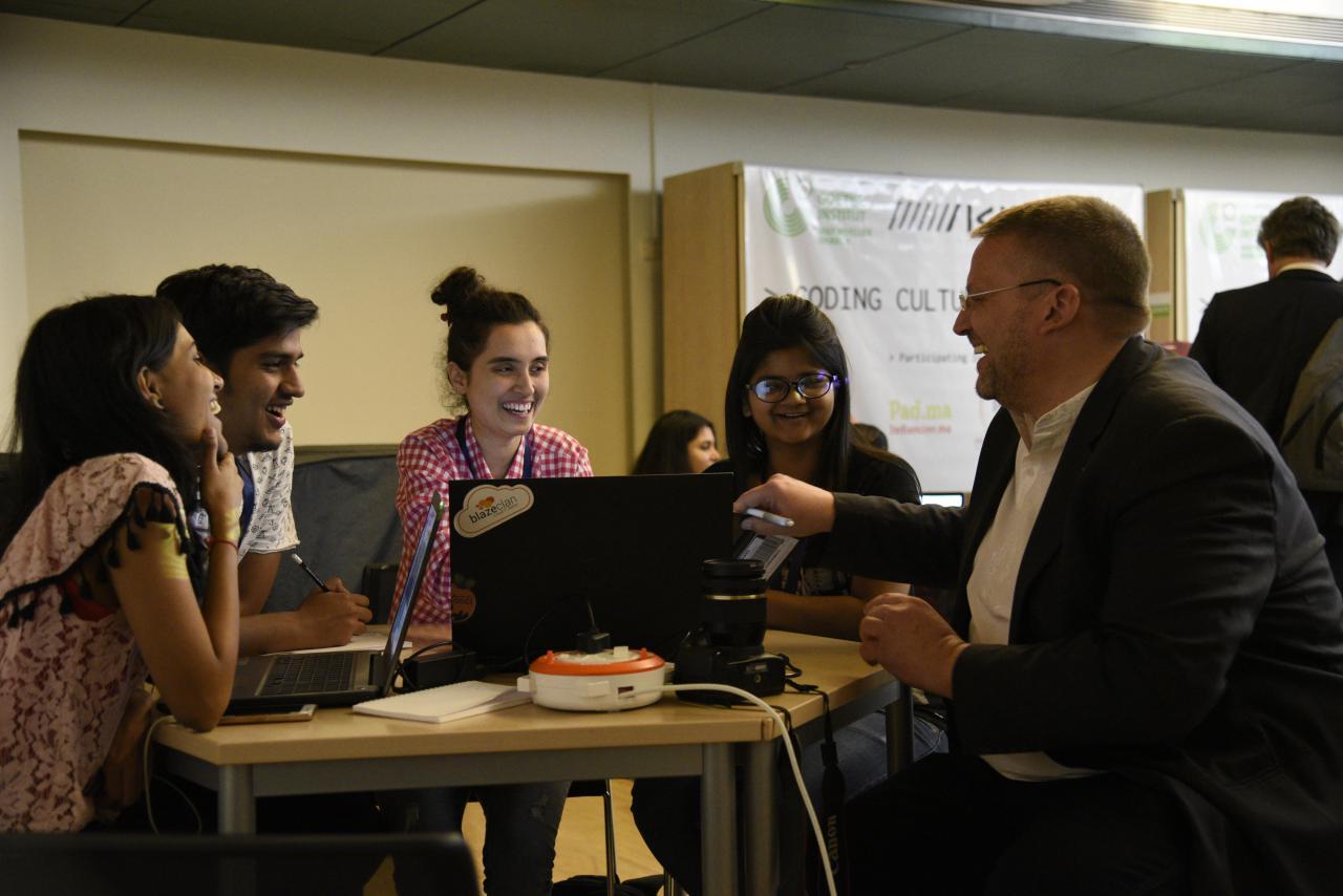 Eindrücke vom Coding Culture Hackathon in Mumbai