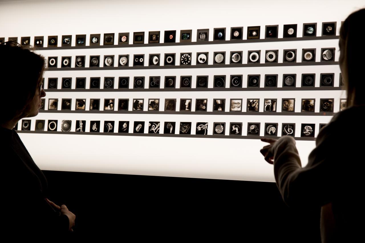 Lumagramme von Aldo Tambellini